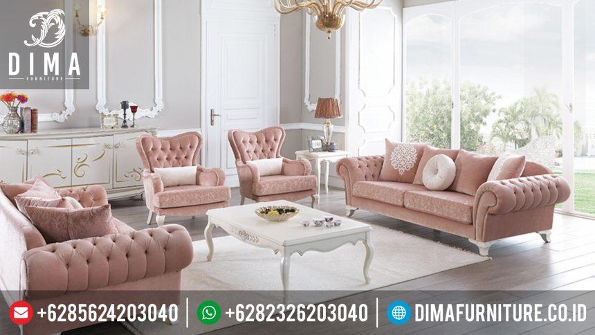 Kursi Sofa Tamu Mewah Terbaru Jepara ST-0386