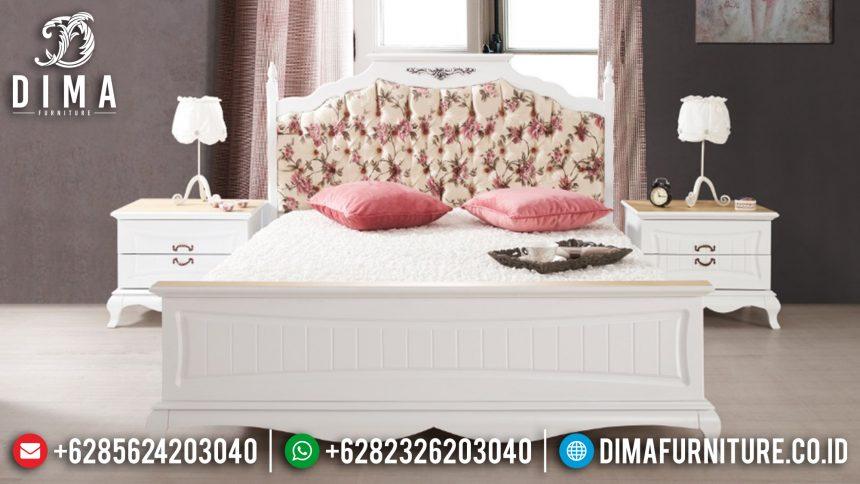 Set Kamar Tidur Minimalis Shabby Chic Mewah Jepara Terbaru ST-0388