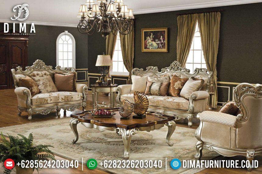 Kursi Sofa Tamu Mewah Jepara Terbaru ST-0395