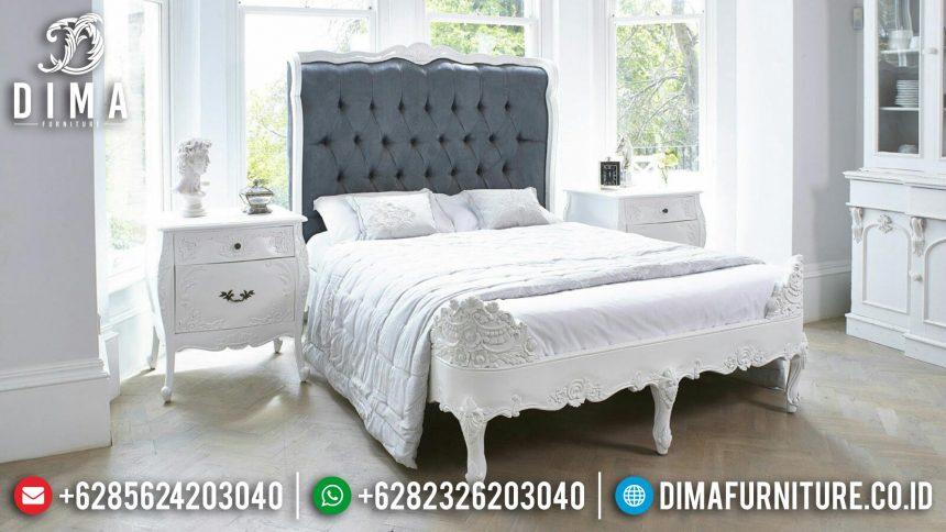 Set Kamar Tidur Mewah, Tempat Tidur Minimalis, Dipan Jati Jepara ST-0396