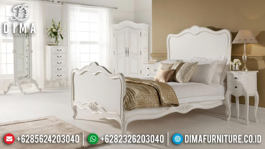 Tempat Tidur Minimalis, Dipan Jati Jepara, Set Kamar Tidur Shabby ST-0399