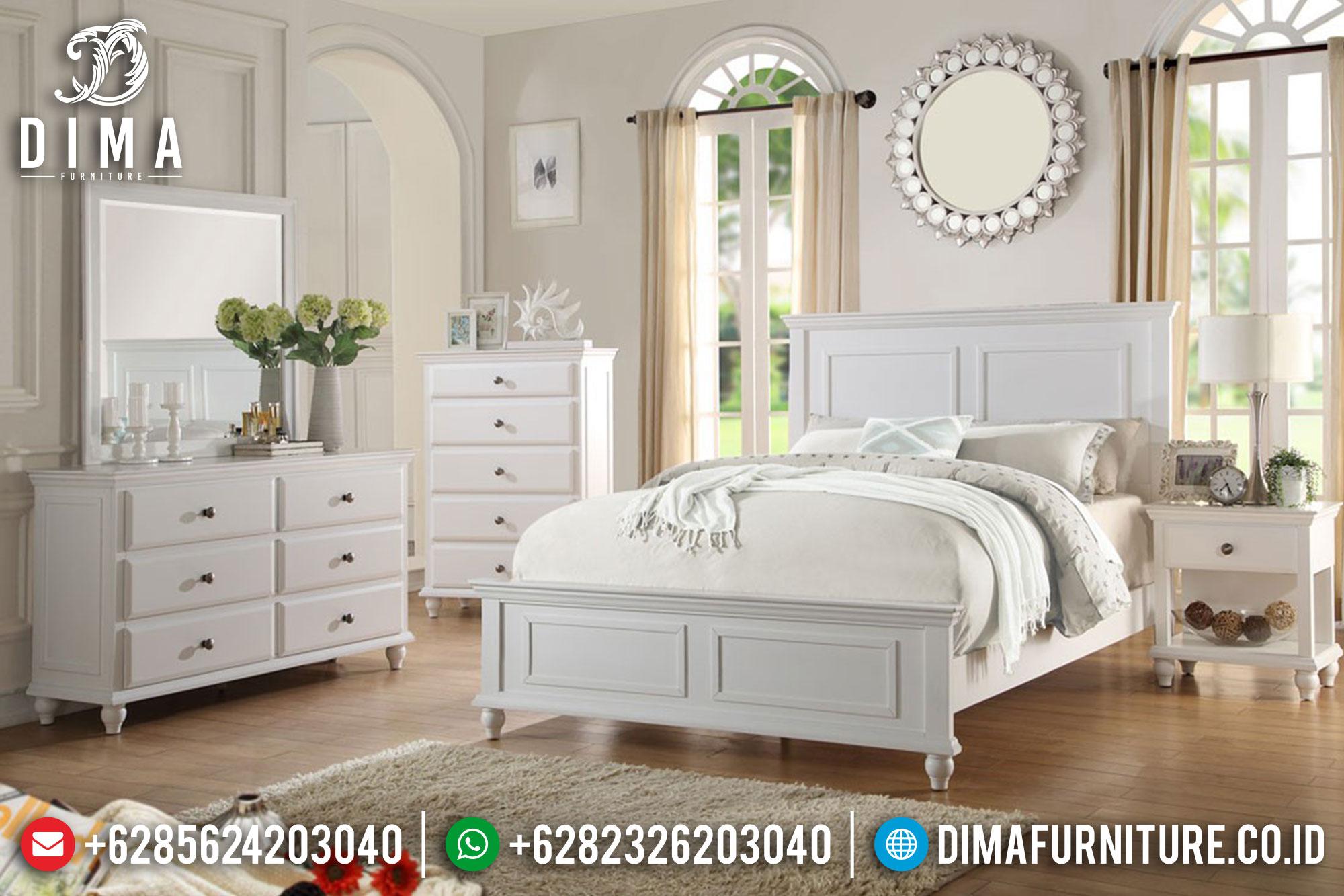 Kamar Set Minimalis Jepara, Set Kamar Tidur Mewah, Dipan Minimalis Terbaru ST-0407
