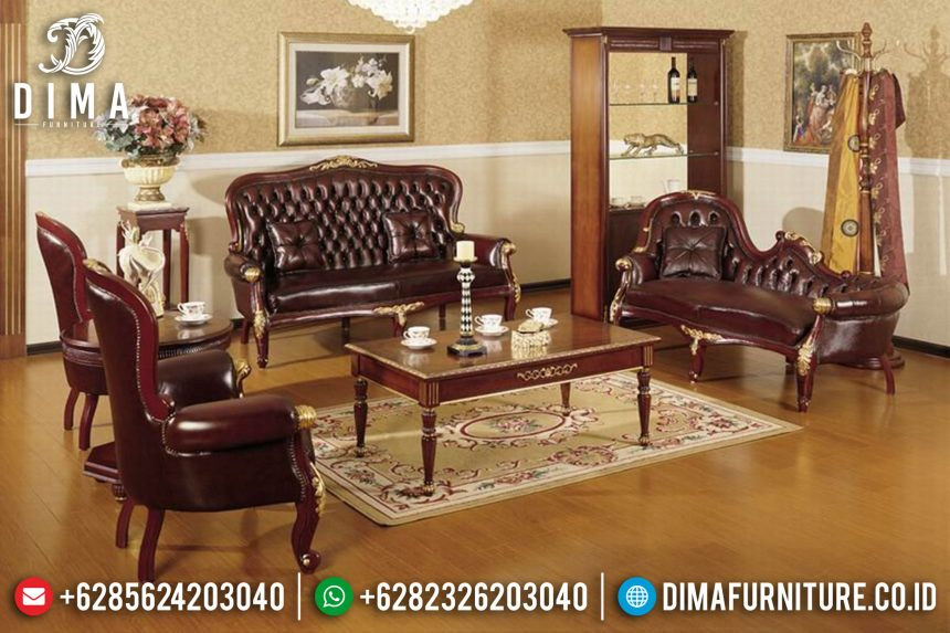 Kursi Sofa Tamu Jepara Set Mewah Ukiran Klasik Terbaru ST-0409