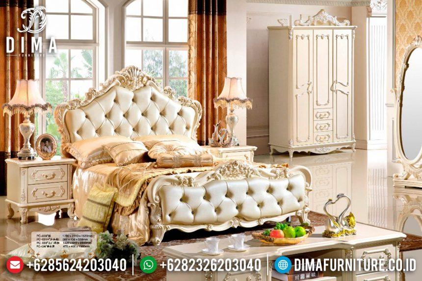 Mebel Jepara Terbaru Set Kamar Tidur Mewah Klasik ST-0405