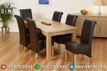 Set Meja Makan Jati Jepara Model Minimalis Terbaru ST-0415