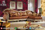 Sofa Jepara Mewah Set Kursi Tamu Sudut L Klasik Terbaru ST-0417