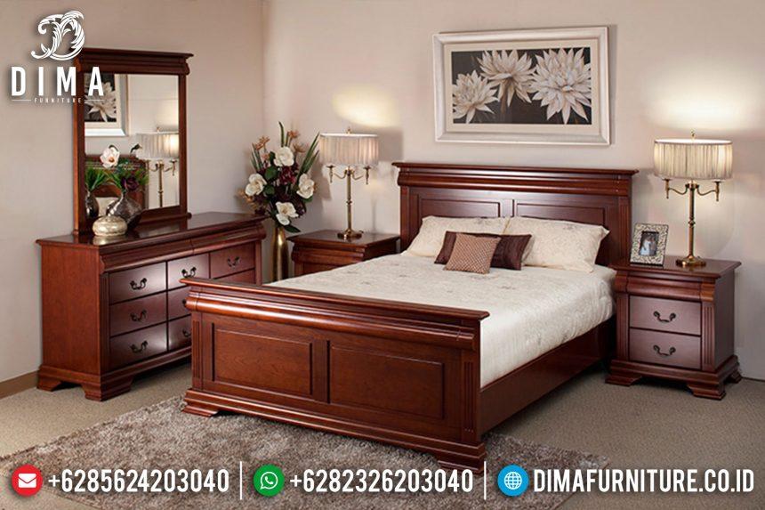Tempat Tidur Minimalis, Dipan Jati Jepara, Kamar Set Mewah Terbaru ST-0406