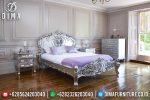 Set Kamar Tidur Mewah Terbaru, Kamar Set Rococo, Set Tempat Tidur Ukiran Klasik ST-0425
