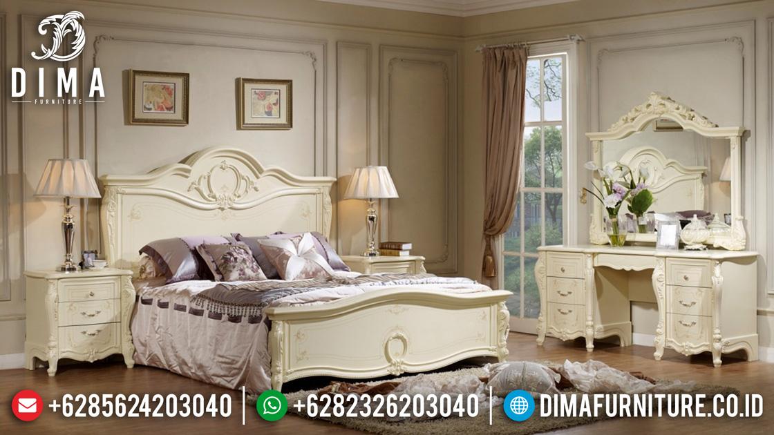 Kamar Set Jepara Terbaru, Mebel Mewah Jepara, Set Kamar Tidur Mewah ST-0459