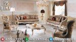 Kursi Sofa Tamu Mewah Terbaru Ukiran Jepara Klasik Duco Milat ST-0446