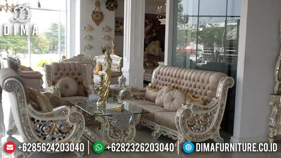 Kursi Tamu Jati Jepara, Sofa Tamu Mewah Terbaru, Sofa Raffi Ahmad ST-0463