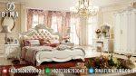Mebel Jepara Terbaru Kamar Set Mewah Ukiran Klasik Duco Ivory ST-0450