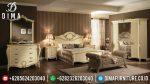 Set Kamar Tidur Mewah Spavaca Luxury Jepara Terbaru Duco Ivory Gold ST-0460