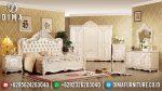 Set Kamar Tidur Mewah Klasik Duco Ivory Terbaru Ukiran Jepara ST-0510