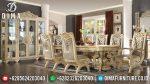 Set Meja Makan Jepara Mewah Terbaru Berkualitas Ukiran Klasik European Luxurious ST-0522