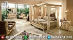 Kamar Set Mewah Klasik, Set Kamar Tidur Jepara, Set Tempat Tidur Kanopi Raffles ST-0530