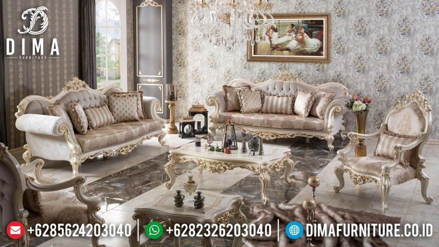 Sofa Ruang Tamu Mewah, Sofa Tamu Jepara Mewah, Kursi Tamu Ukiran Jepara ST-0545