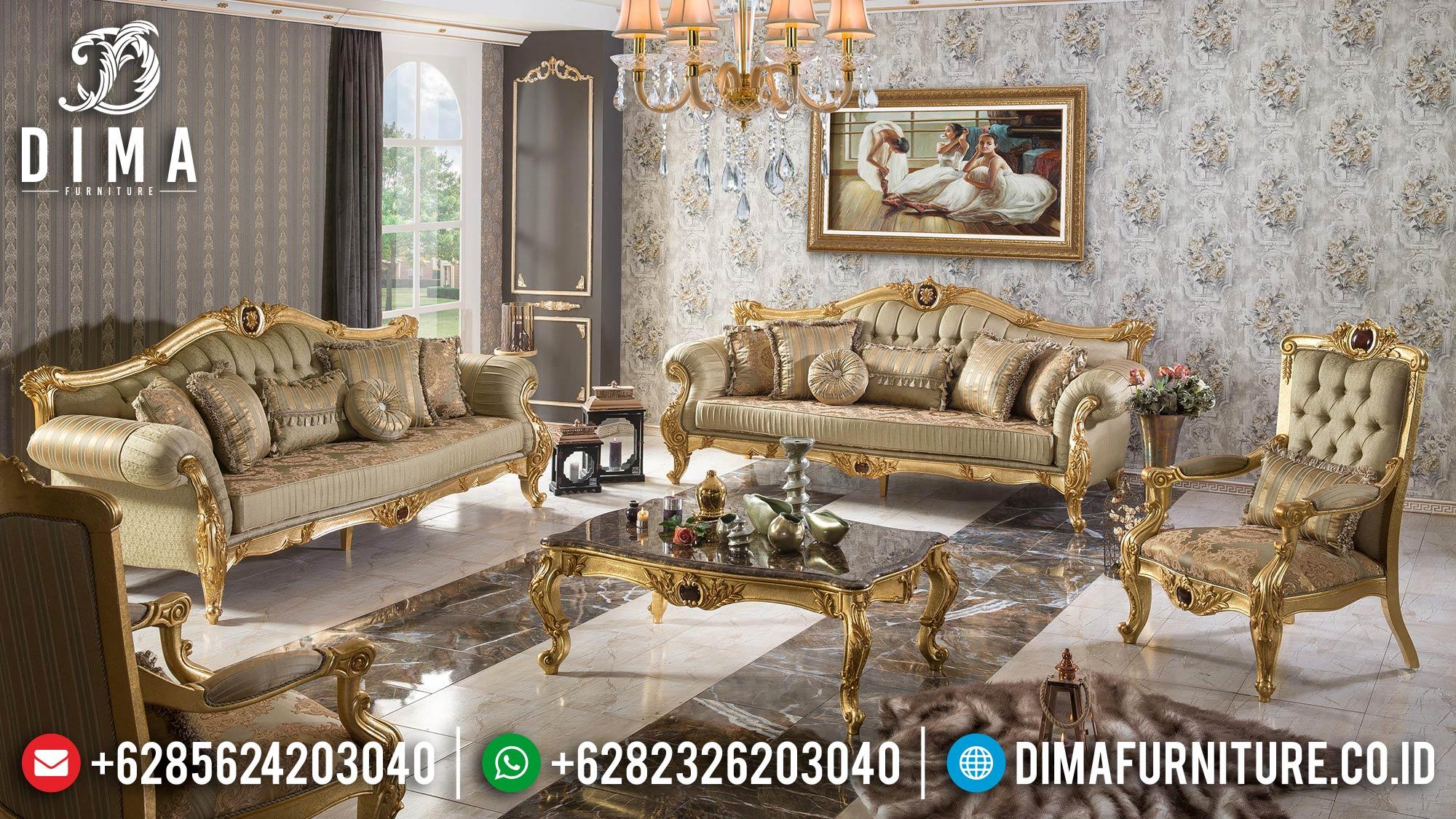 Sofa Tamu Mewah Jepara Formasi 3 2 1 + Meja + Meja Sudut Harga Murah ST-0543