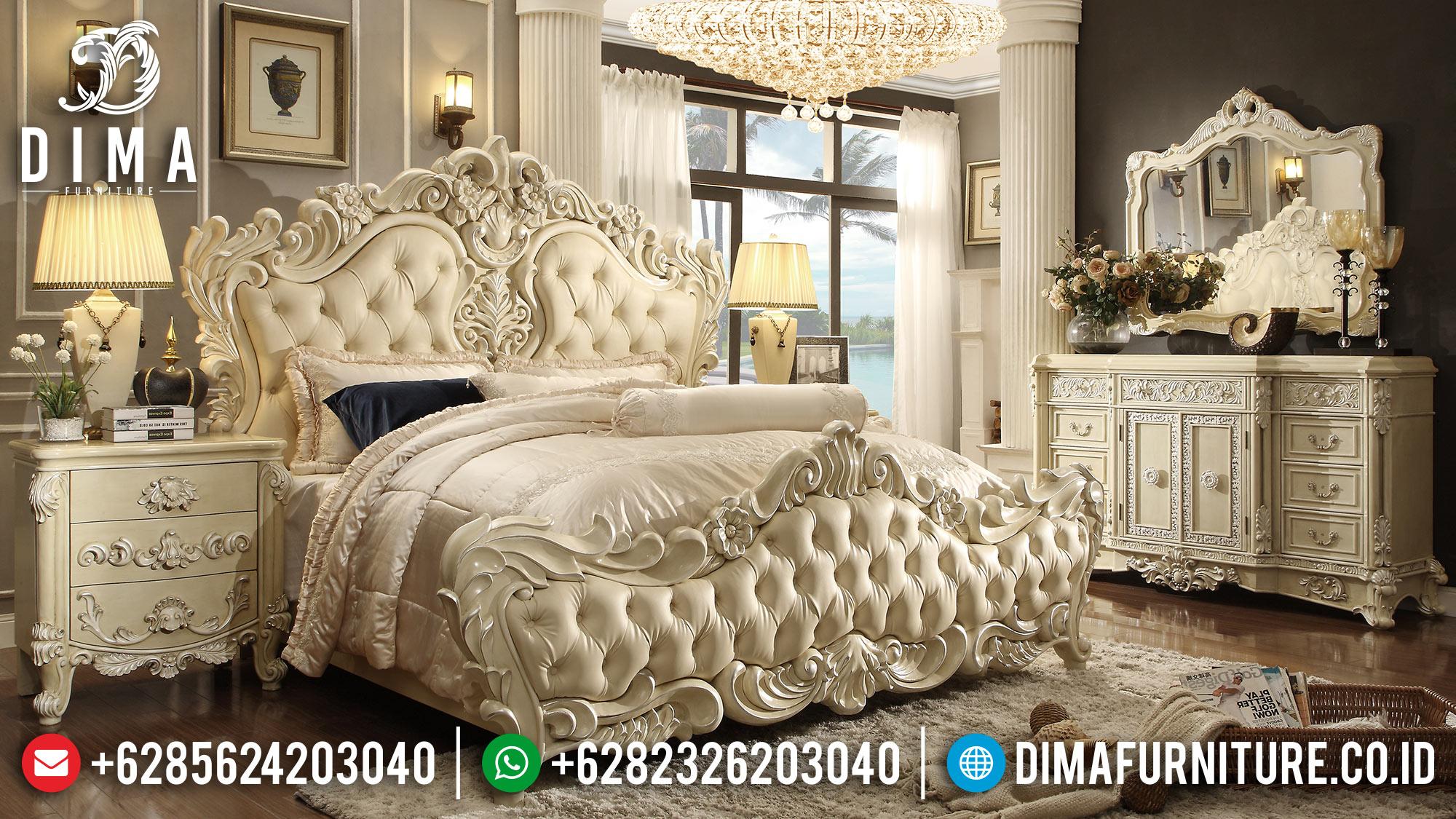 Kamar Set Mewah Jepara, Ranjang Pengantin Terbaru, Set Kamar Tidur Klasik Mewah ST-0549