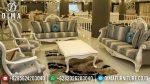 Terbaru Dan Terlaris Sofa Tamu Jepara Mewah Duco Putih Arina ST-0554