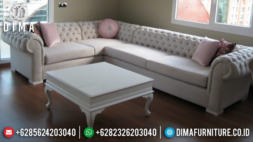 Kursi Ruang Tamu Set Sofa Tamu Sudut L Mewah Minimalis Jepara ST-0560