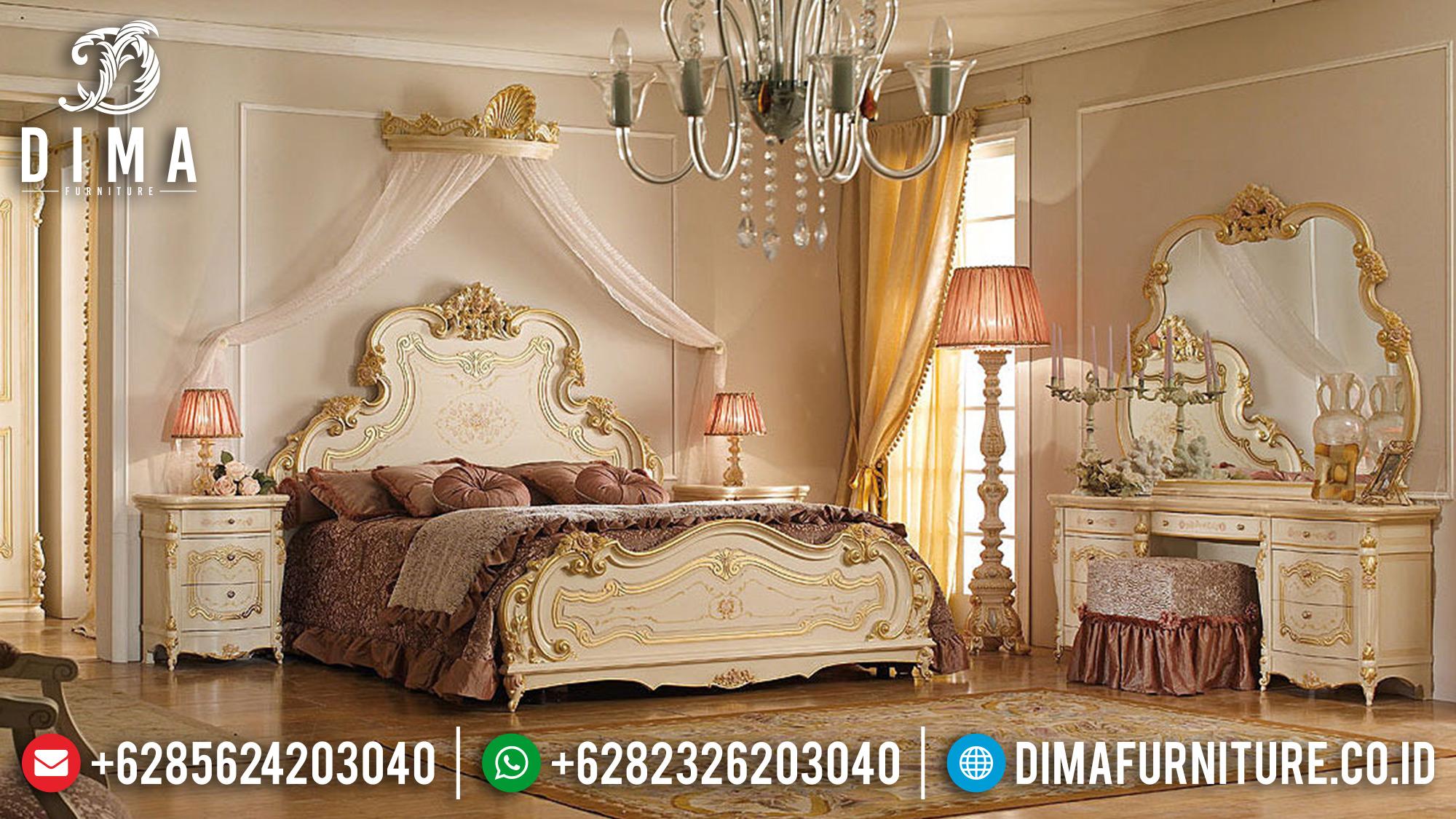 Set Kamar Tidur Mewah Tempat Tidur Jepara Terbaru Verona ST-0568