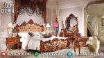 Tempat Tidur Mewah Jati Jepara Kamar Set Klasik Mewah Rahwana Raja ST-0570