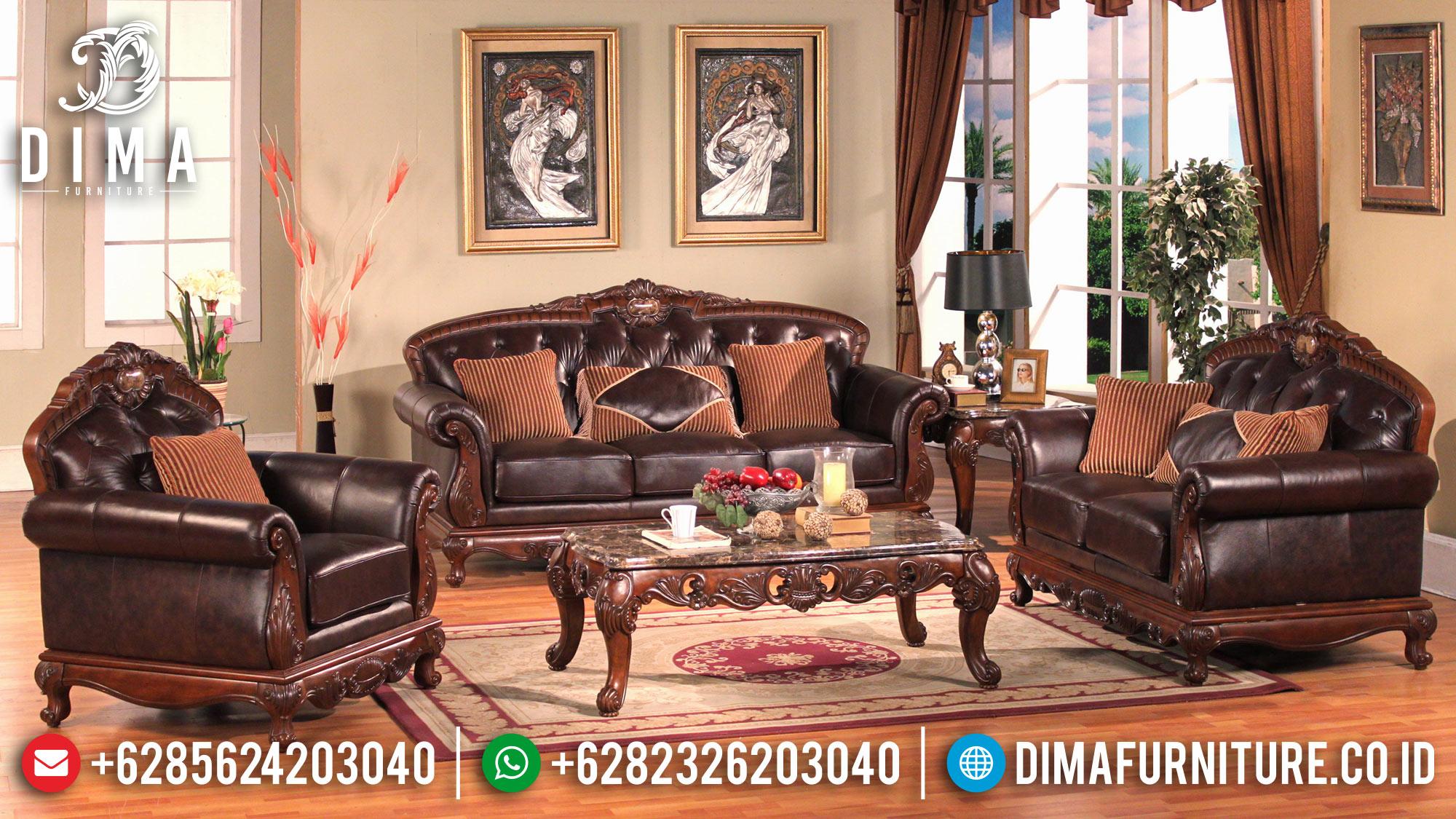Kursi Tamu Jati, Sofa Tamu Jepara Mewah, Set Sofa Mewah Terbaru ST-0572