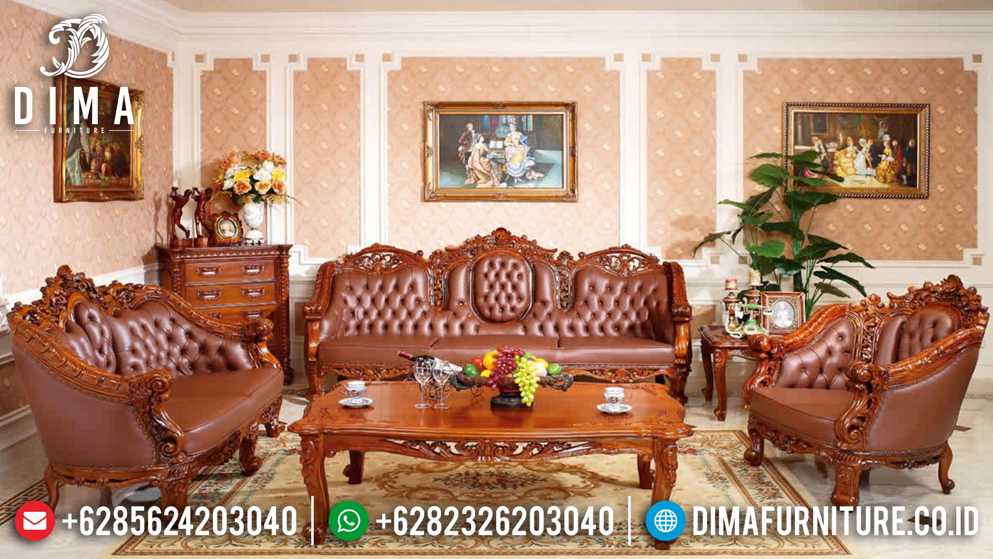 Sofa Tamu Jepara, Kursi Tamu Jati Jepara, Sofa Tamu Mewah Jepara ST-0574 Gambar 1