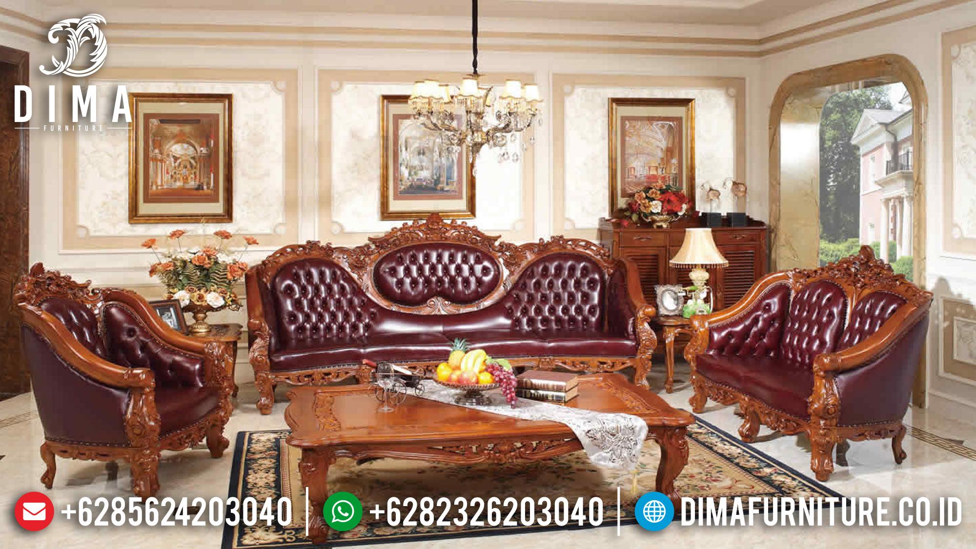 Sofa Tamu Jepara, Kursi Tamu Jati Jepara, Sofa Tamu Mewah Jepara ST-0574 Gambar 2