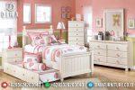 Tempat Tidur Anak Minimalis Mebel Jepara Terbaru Harga Murah ST-0577