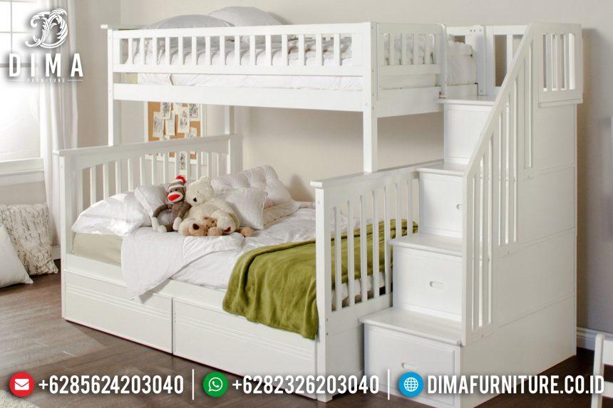Tempat Tidur Anak Tingkat, Tempat Tidur Anak Susun, Set Kamar Tidur Anak Minimalis ST-0576