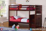 Jual Dipan Tempat Tidur Anak Tingkat Minimalis Jati Jepara Terbaru ST-0593