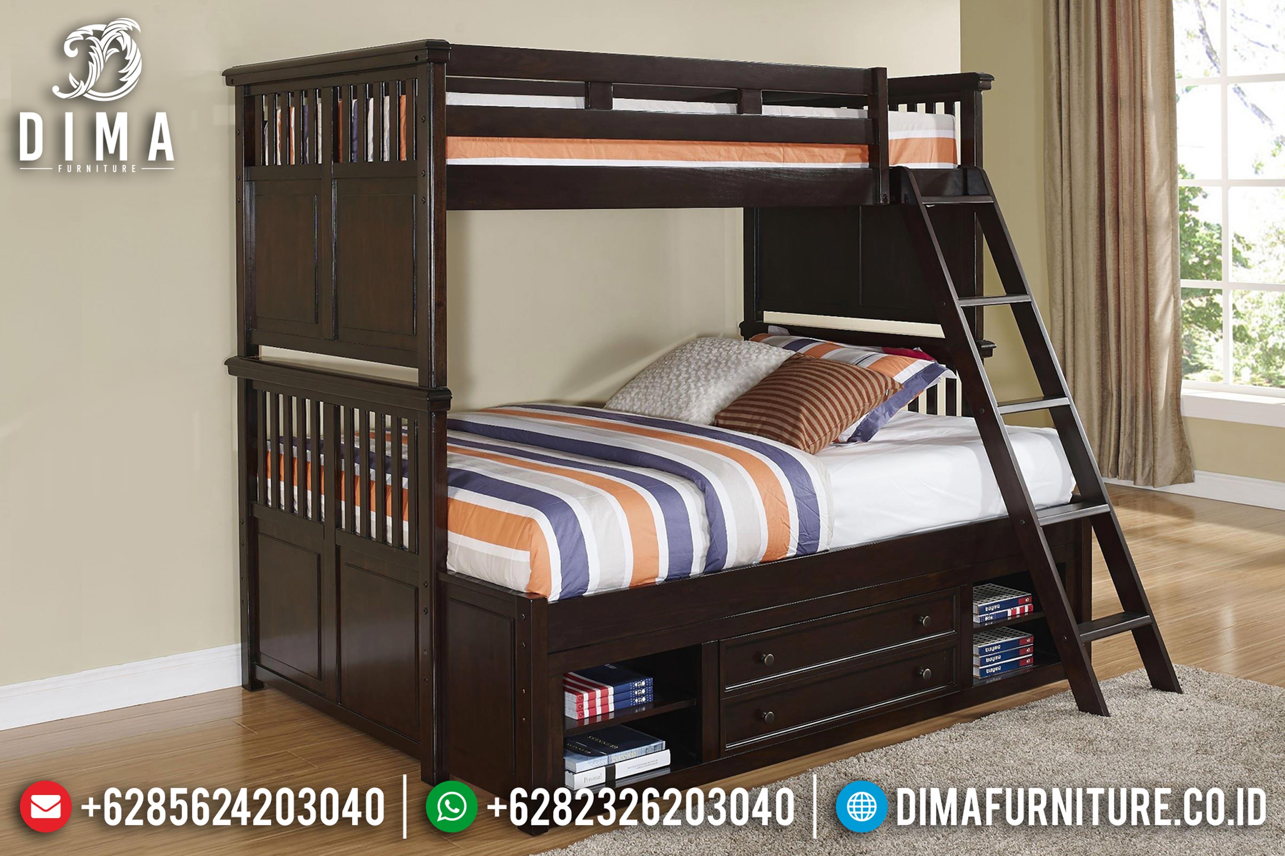 Ranjang Tingkat Terbaru, Tempat Tidur Tingkat, Kamar Set Anak Minimalis ST-0594