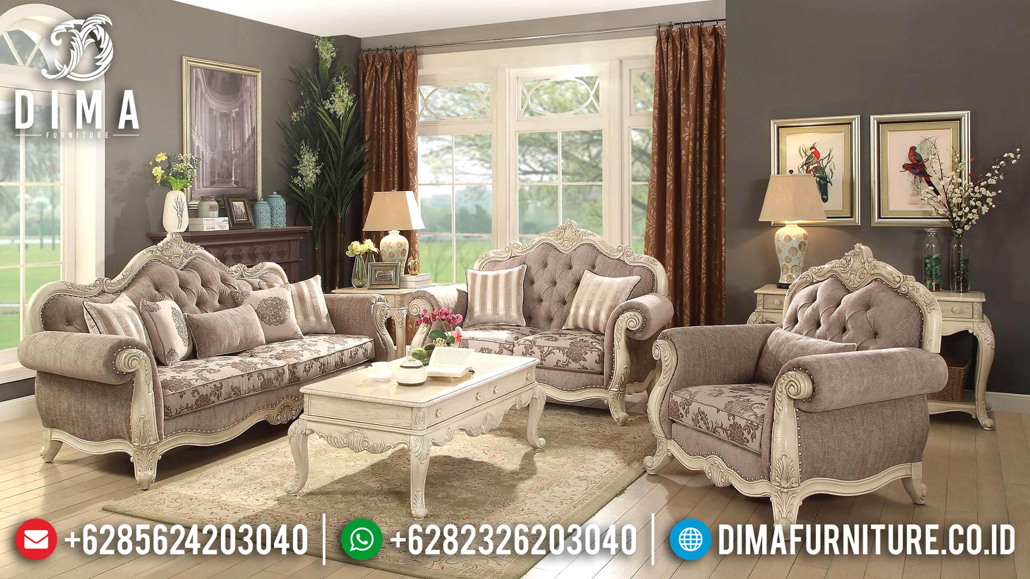 Sofa Tamu Mewah Jepara, Kursi Tamu Jepara, Mebel Jepara Terbaru ST-0588