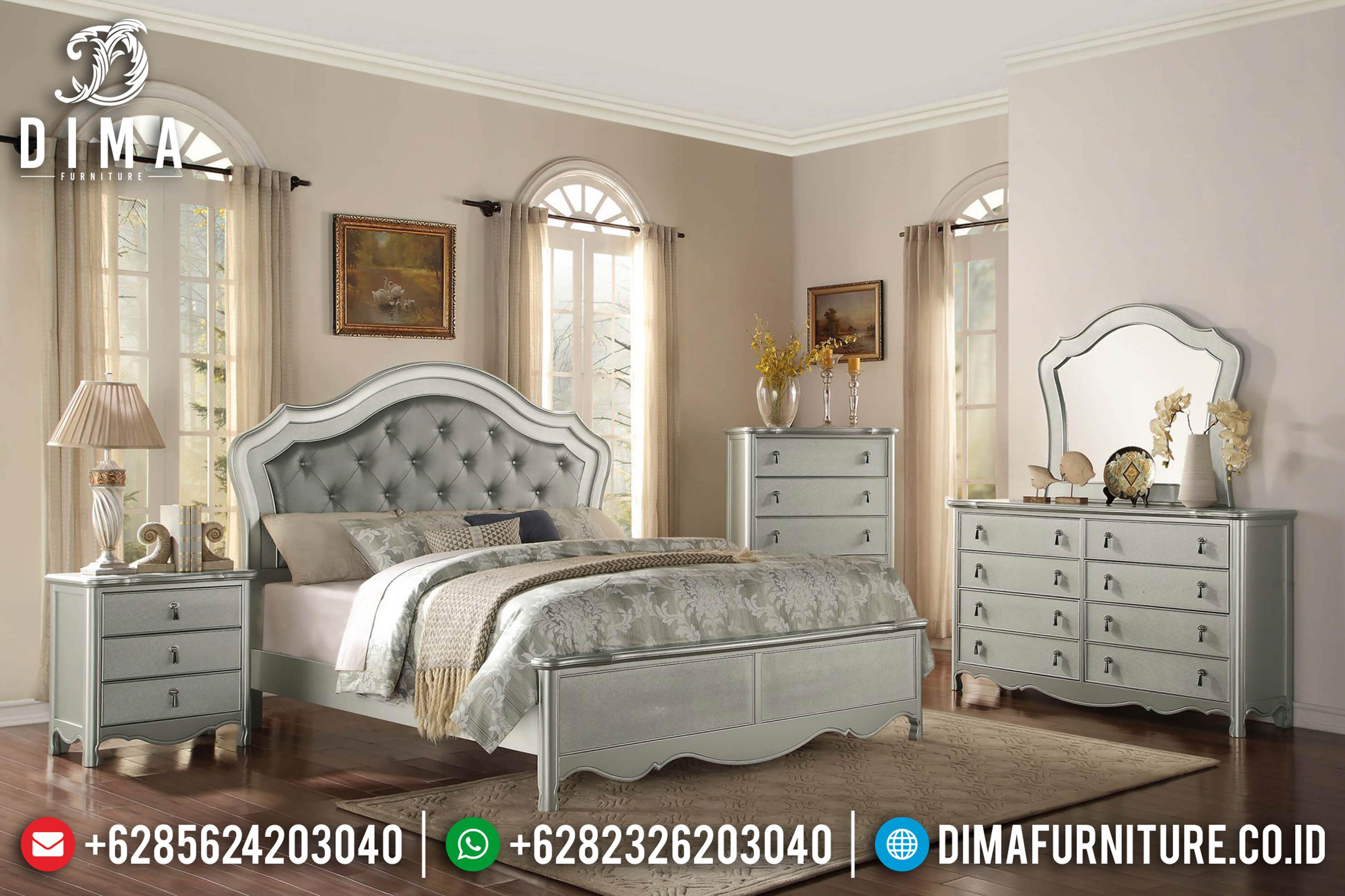 Tempat Tidur Mewah, Kamar Set Minimalis Jepara, Mebel Jepara Terbaru ST-0600