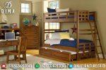 Tempat Tidur Tingkat, Kamar Set Anak Minimalis, Mebel Jati Jepara ST-0591