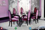 Meja Makan Minimalis Mewah, Meja Makan Jepara, Mebel Jepara Terbaru ST-0605