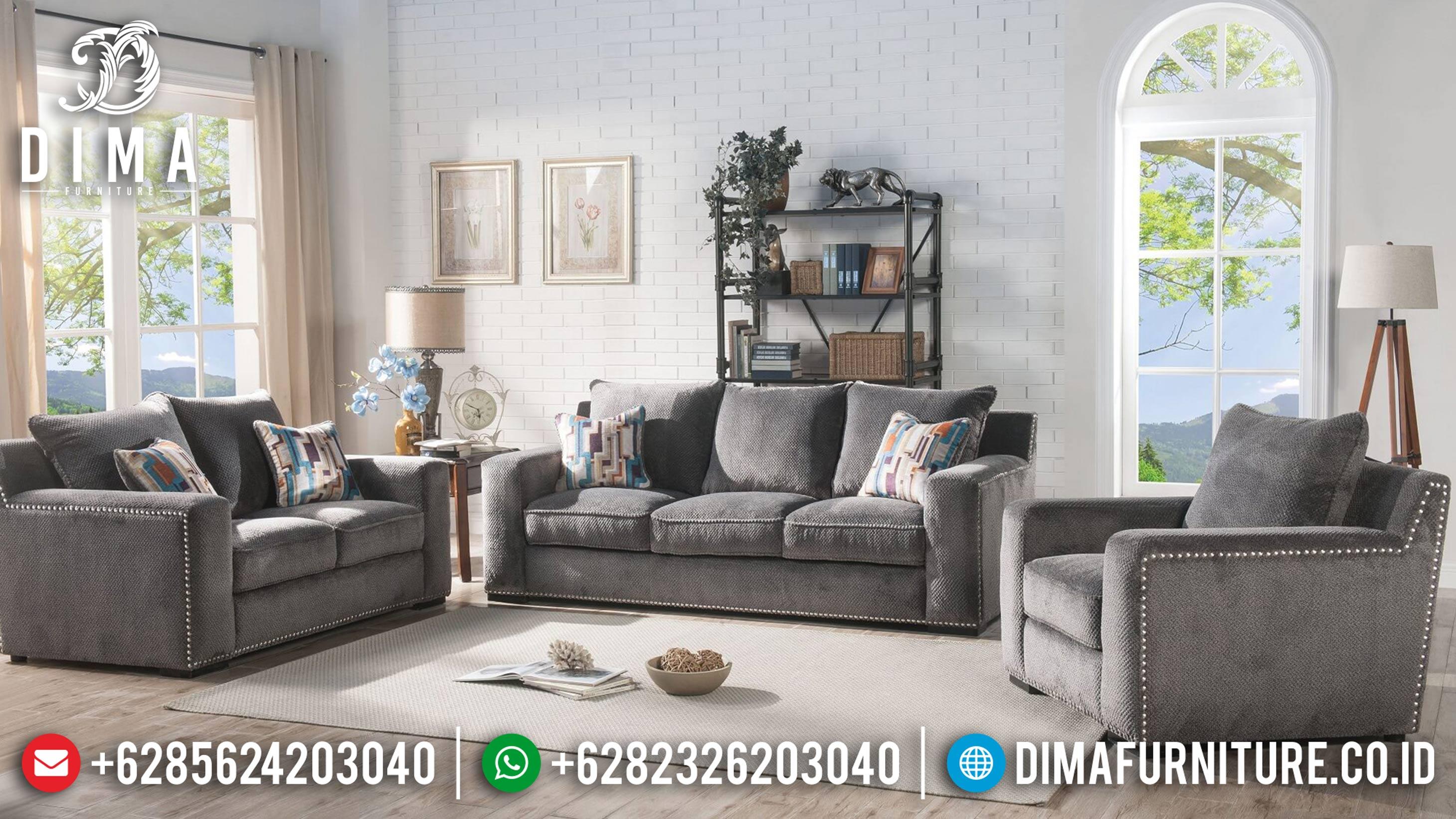 Set Sofa Tamu Minimalis Terbaru, Sofa Tamu Jepara Mewah, Sofa Modern 2019 ST-0617