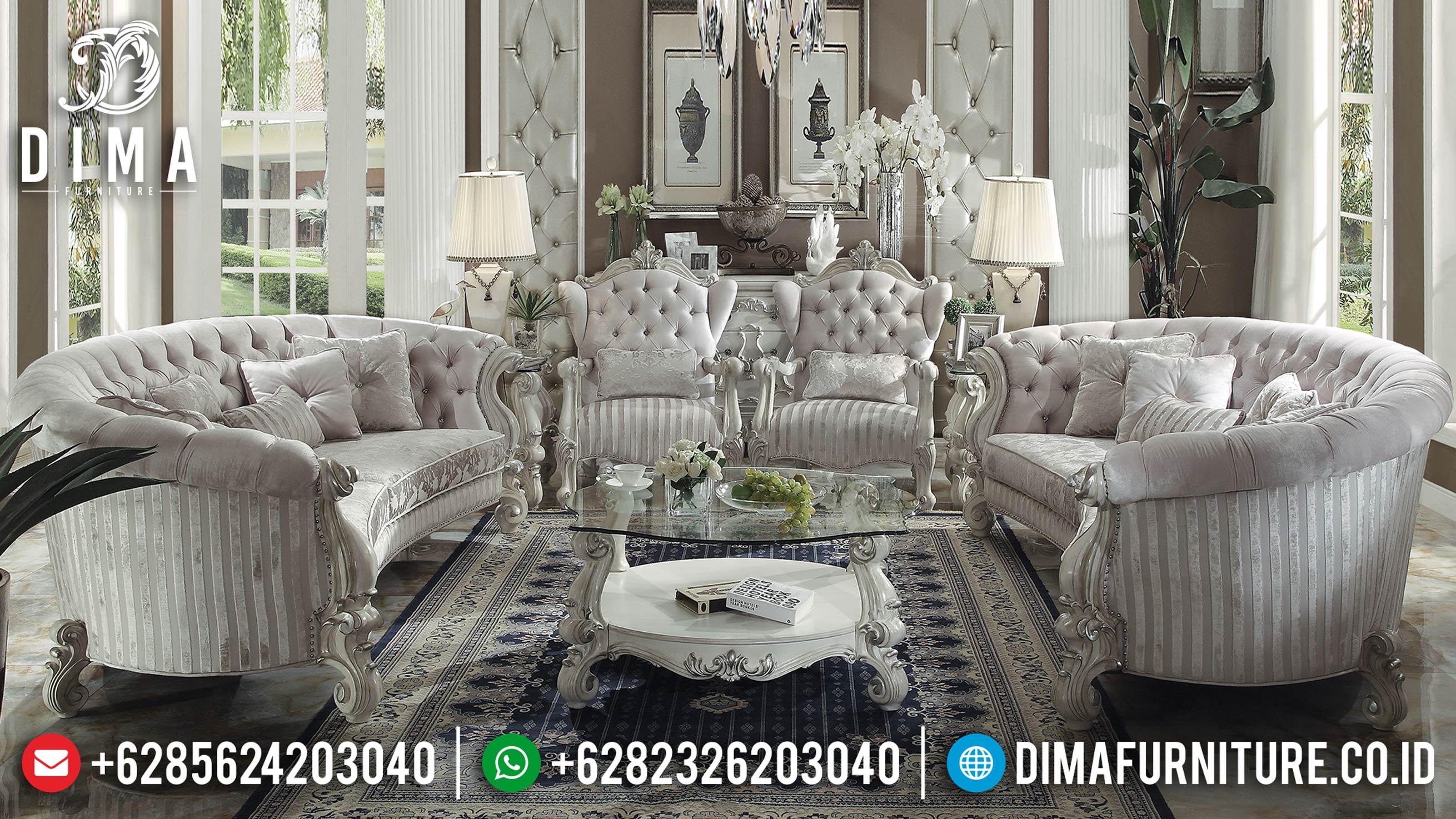 Jual Sofa Ruang Tamu, Sofa Tamu Mewah, Kursi Sofa Tamu Jepara 2019 ST-0619 Gambar 1