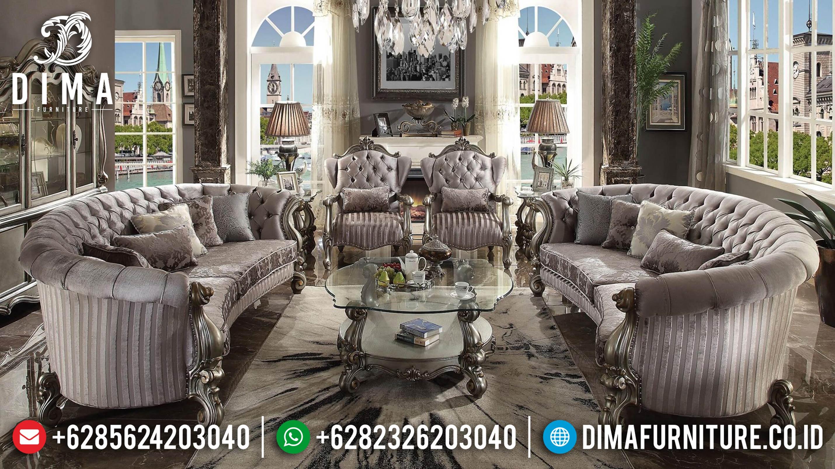 Jual Sofa Ruang Tamu, Sofa Tamu Mewah, Kursi Sofa Tamu Jepara 2019 ST-0619