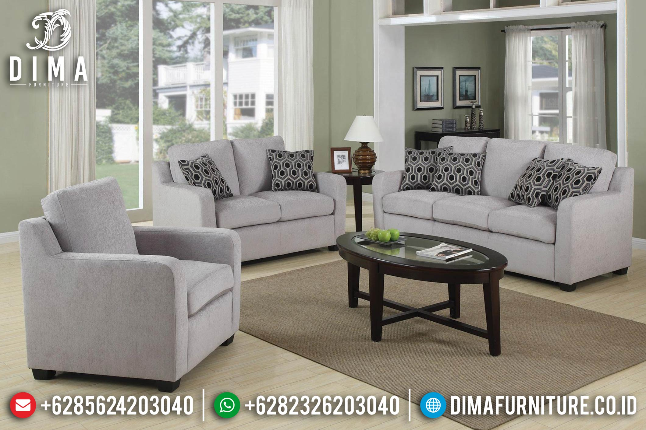 Furniture Indonesia Sofa Tamu Minimalis Jepara Traditional Style ST-0628