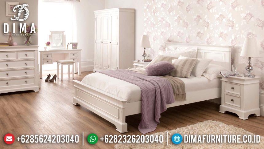 Furniture Indonesia Tempat Tidur Jepara Minimalis Duco Mewah Sophia ST-0634
