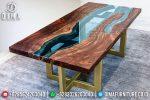 Meja Resin Minimalis, Jual Meja Resin Terbaru, Resin Furniture 2019 ST-0640