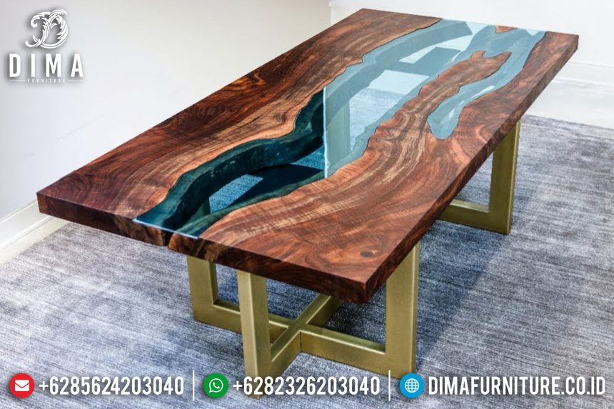 Meja Resin Minimalis, Jual Meja Resin Terbaru, Resin Furniture 2019 ST-0640