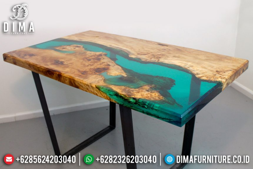 Resin Furniture Indonesa, Meja Resin Terbaru, Mebel Resin Jepara ST-0641