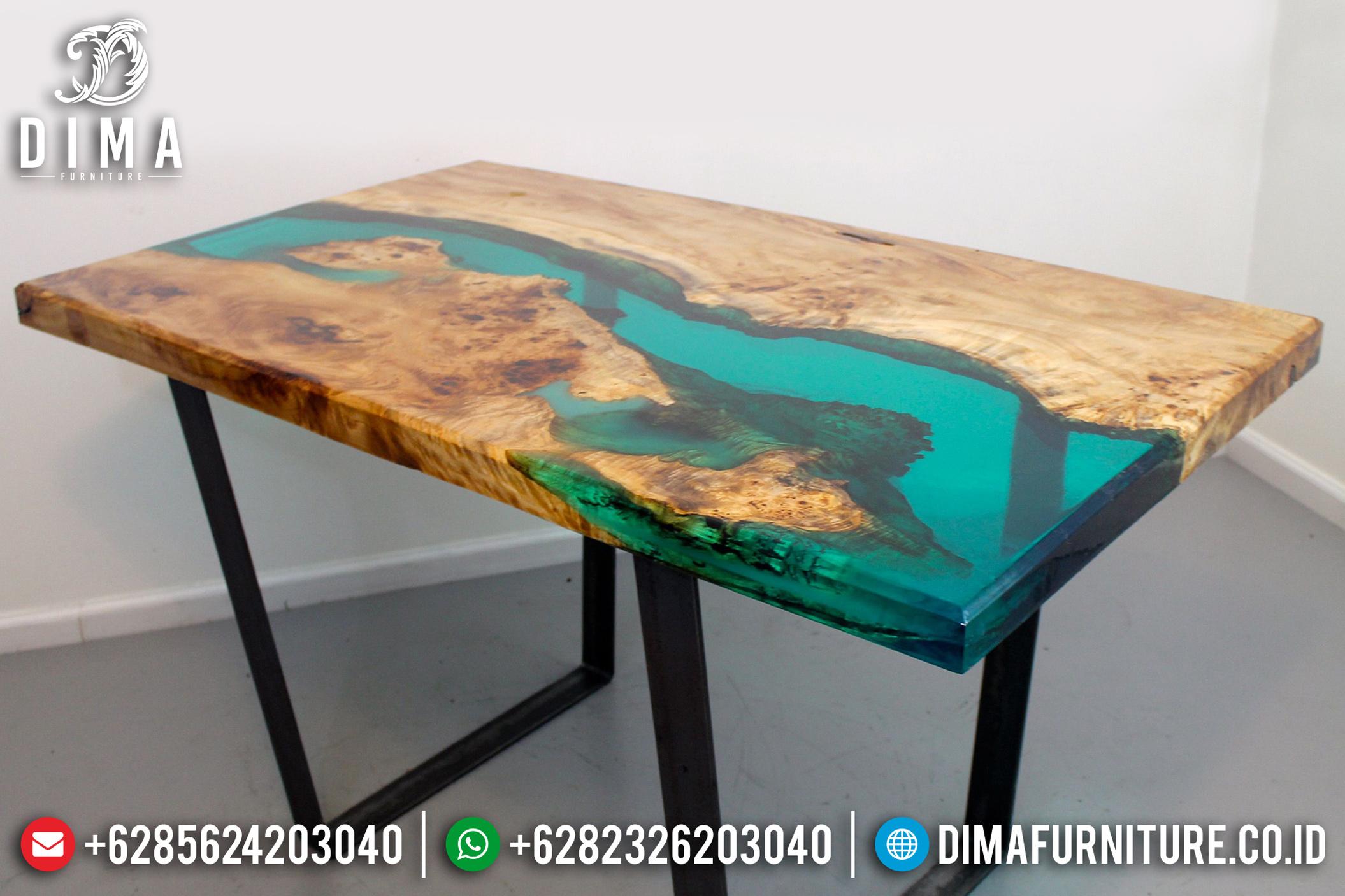 Resin Furniture Indonesa, Meja Resin Terbaru, Mebel Resin Jepara ST-0641