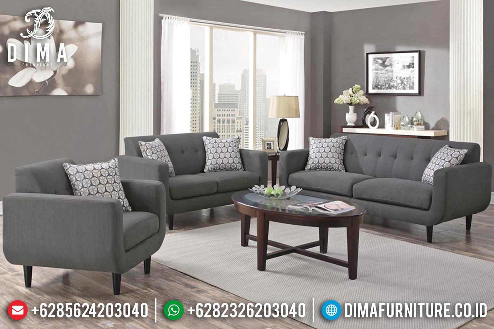 Seri Rosalie Sofa Tamu Minimalis Jepara Furniture Indonesia Terbaru ST-0629 Gambar 1