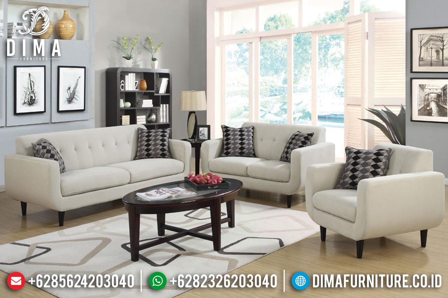 Seri Rosalie Sofa Tamu Minimalis Jepara Furniture Indonesia Terbaru ST-0629