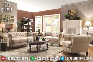 Sofa Tamu Minimalis Jepara Modern & Mewah Terbaru chesterfield ST-0627